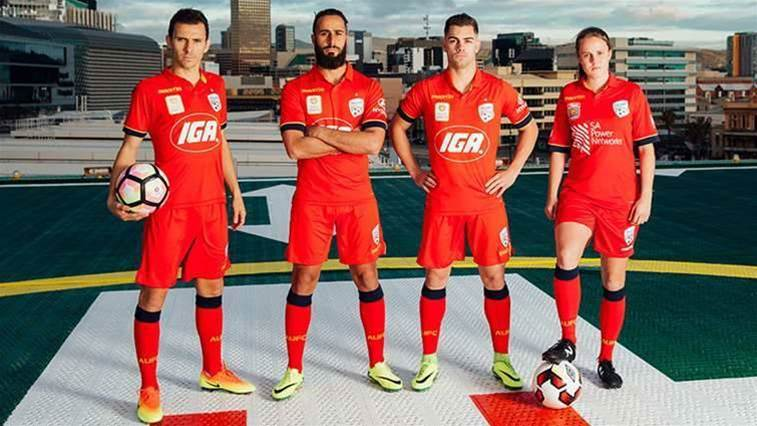 Adelaide unveil new kit
