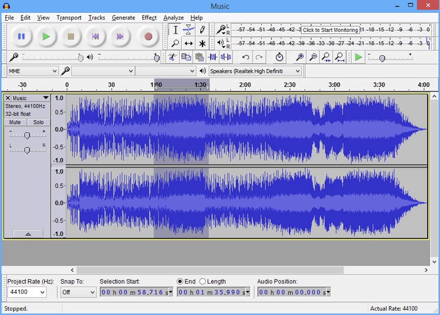 Audacity 2.1.1 adds scrubbing, seeking, and effect presets