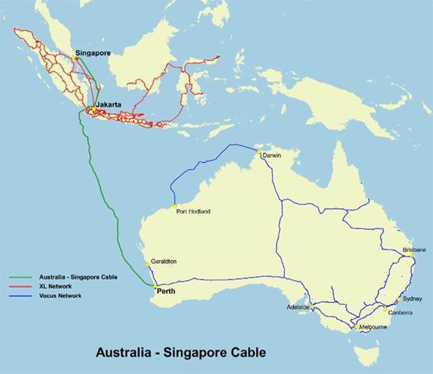 Alcatel-Lucent to build Australia Singapore Cable