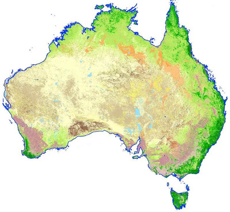 Geoscience Australia creates integrated land map