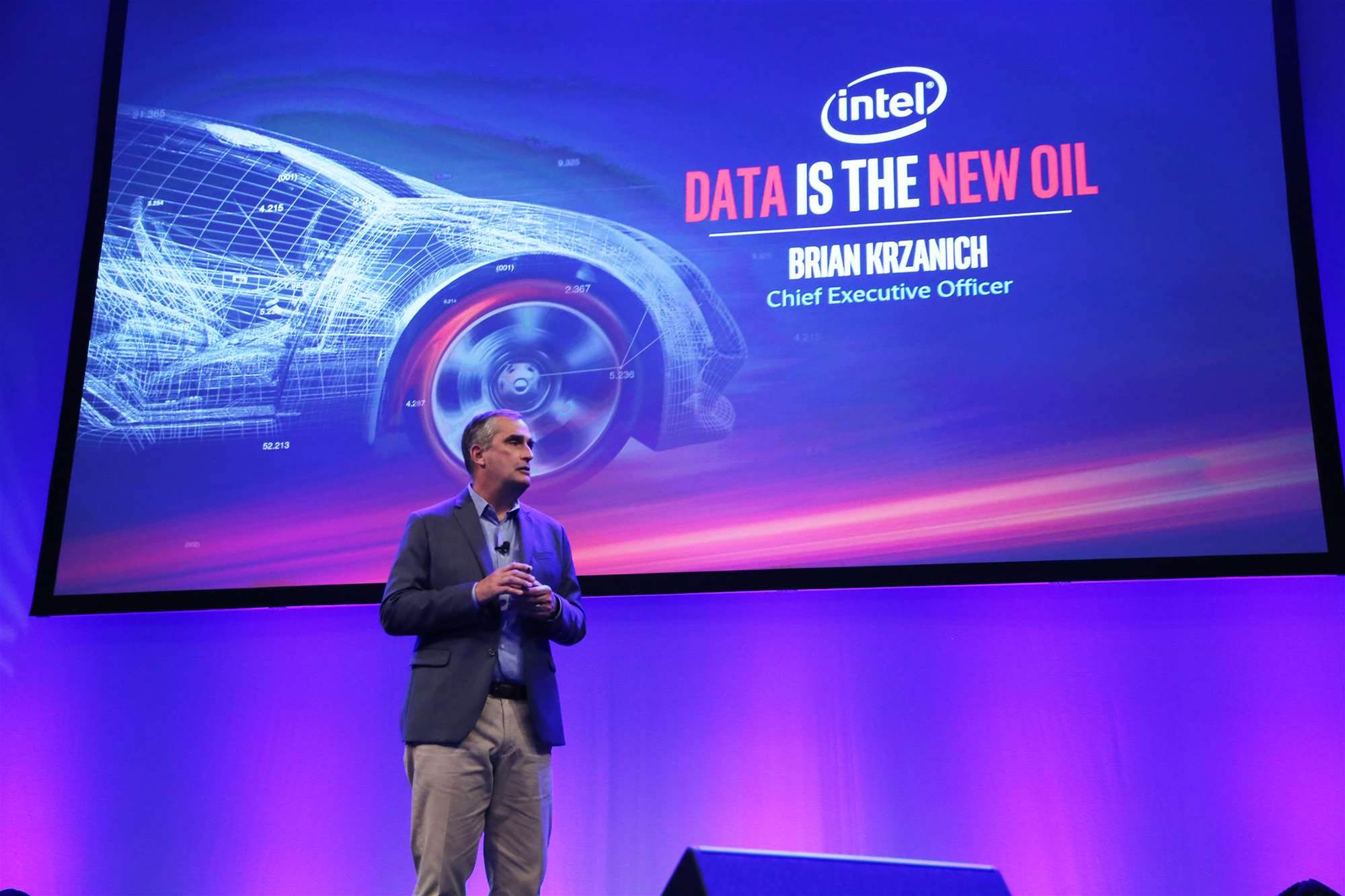 Intel betting big on autonomous vehicles