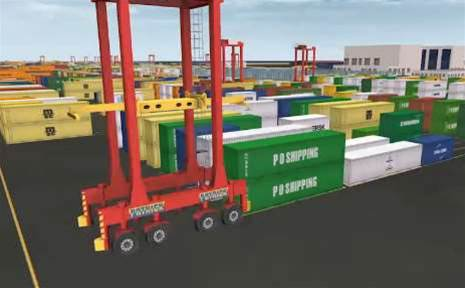 Patrick's container-carrying robots damaged at sea