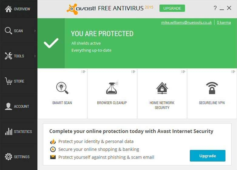 AVAST 2015 adds Network Security check, HTTPS scanning