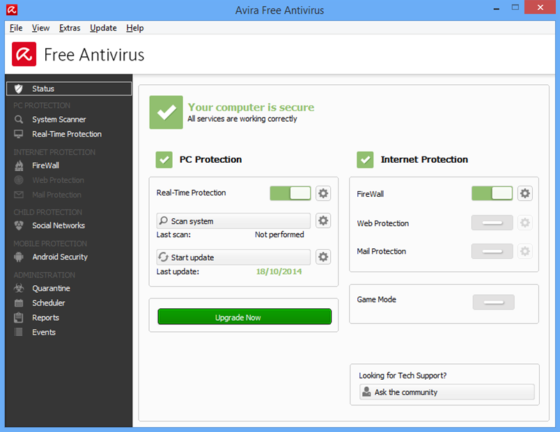 Avira 2015 offers optional Dropbox install