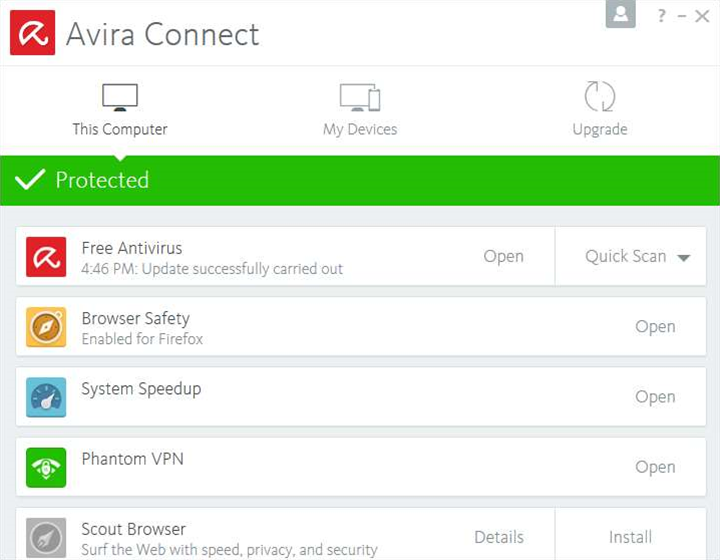 Avira ships free security suite