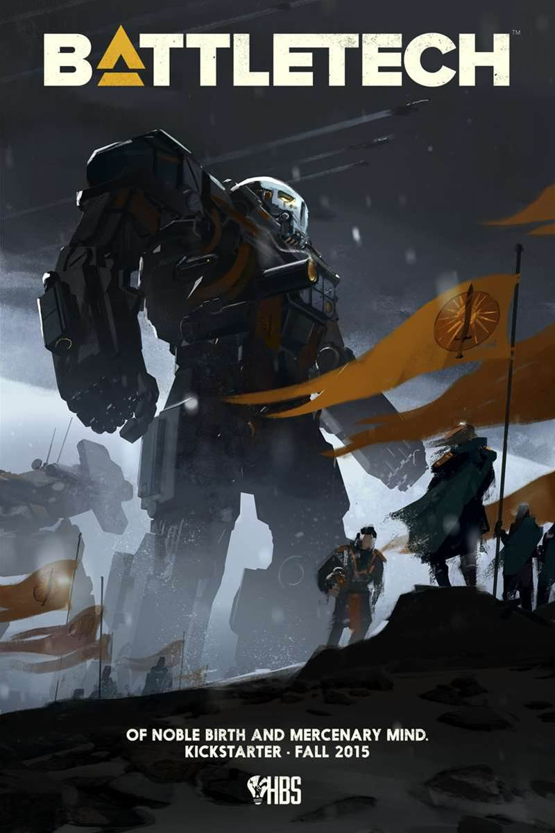 Battletech PC strategy game coming to Kickstarter this year
