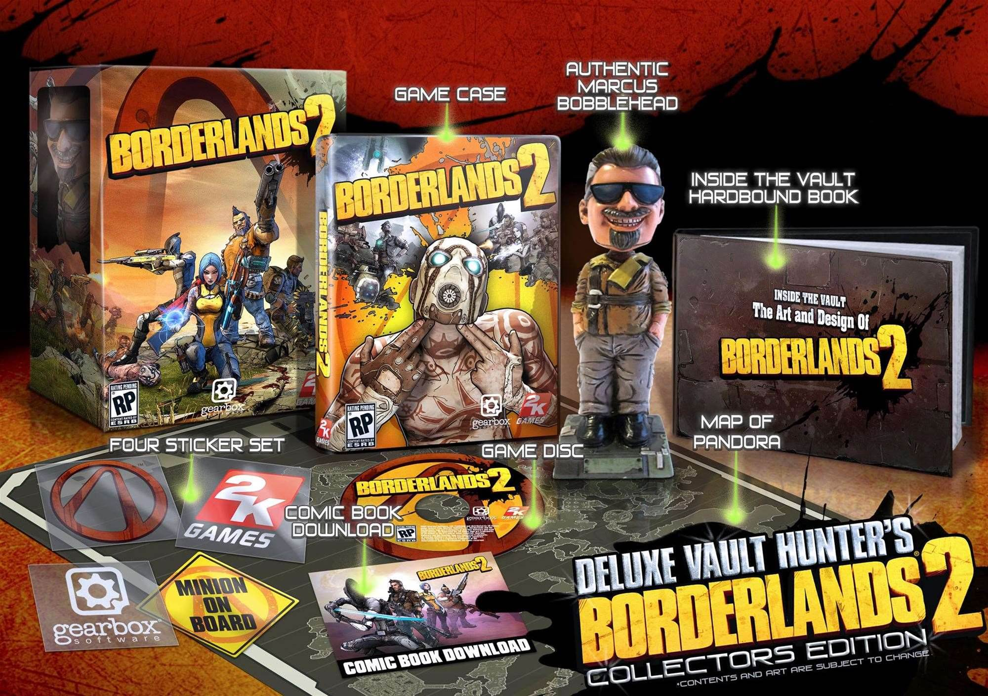 Borderlands 2 Limited and Collector's Editions announced - they are EPIC