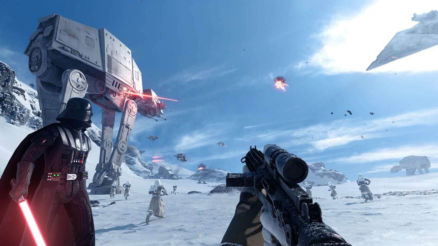 Star Wars: Battlefront beta starting in two weeks!
