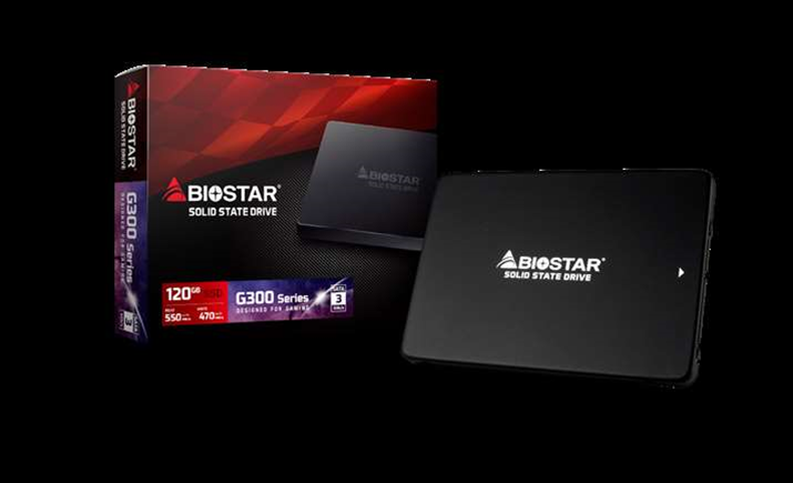 Biostar reveals new G300 series SSDs