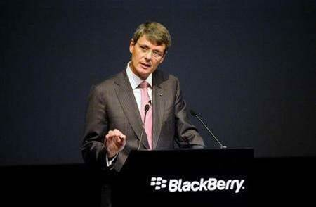 BlackBerry calls off hunt for a buyer