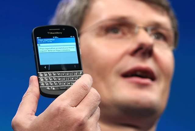 BlackBerry in talks with Cisco, Google and SAP