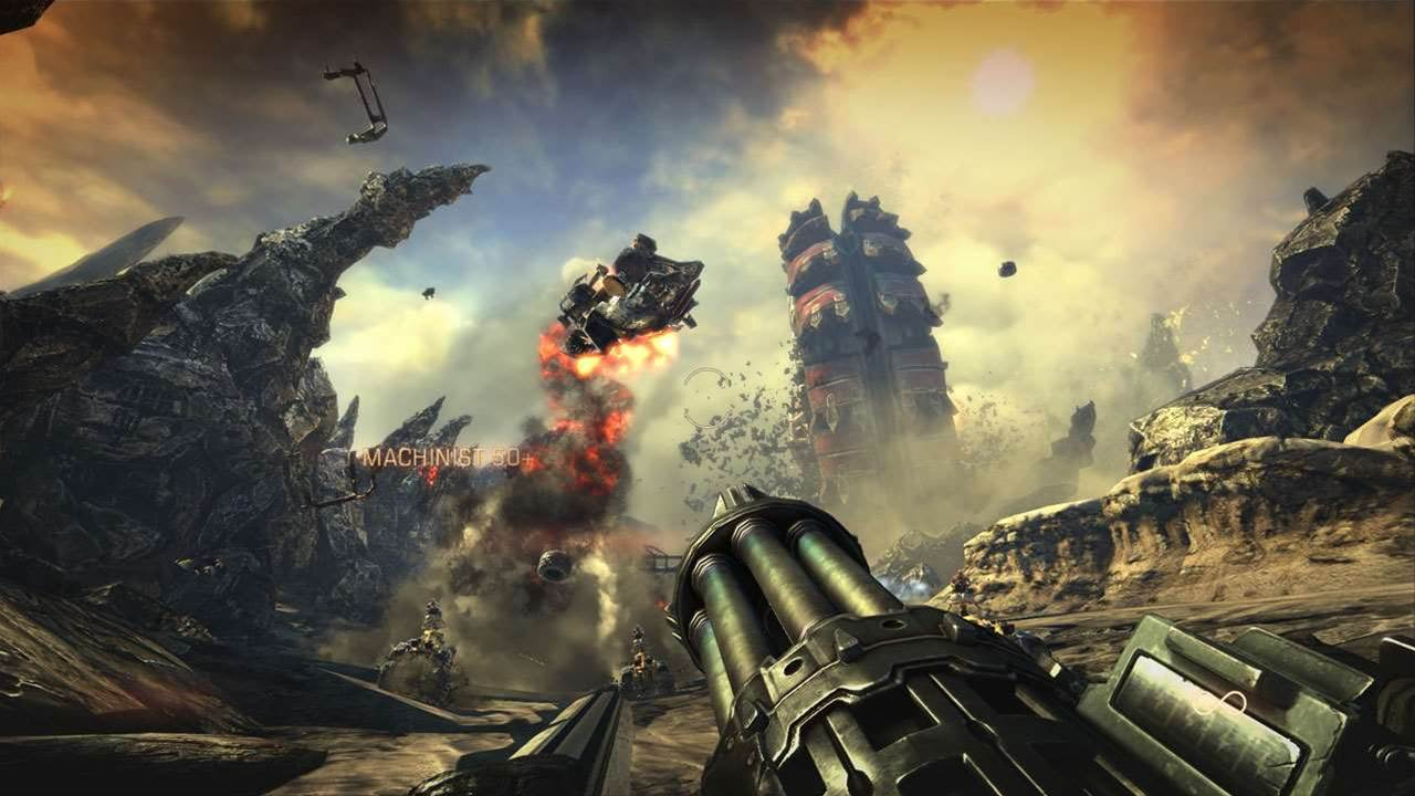 Bulletstorm - fun and cussing