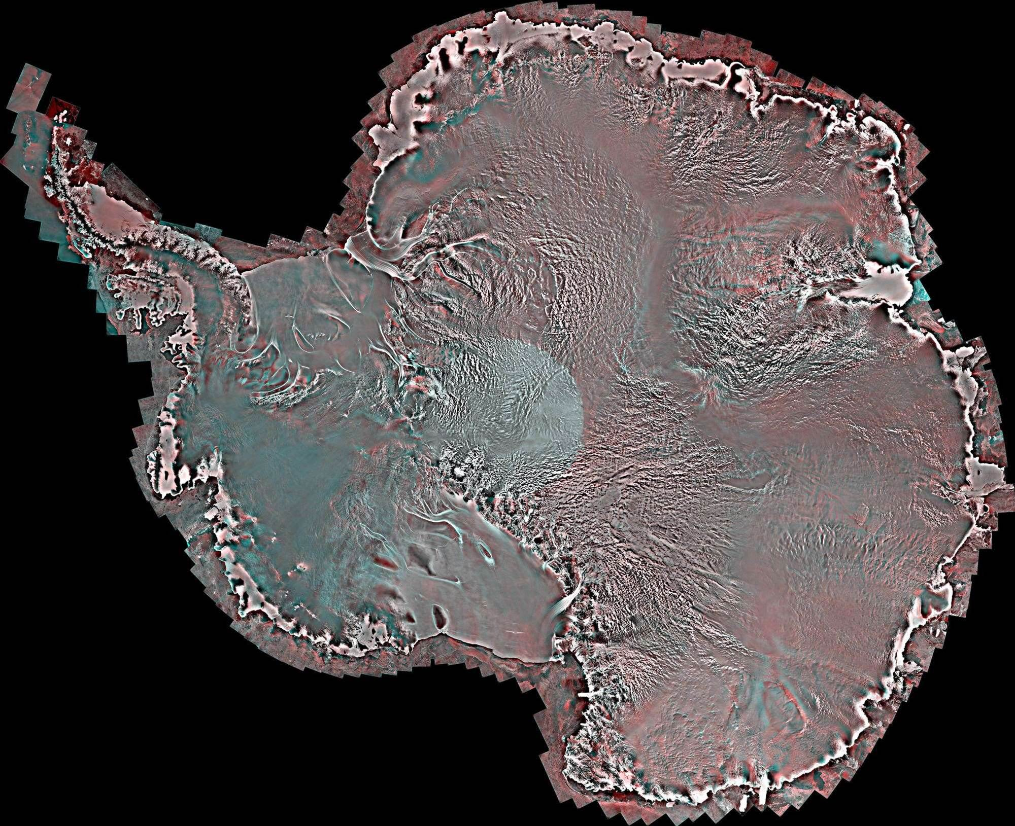 Antarctica From Pole To Coast In Stunning Detail