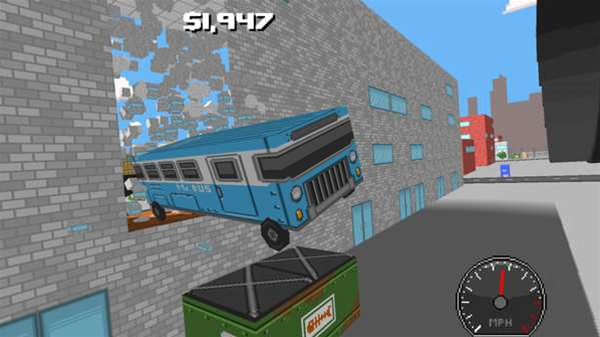 This game has an edition that includes a FREAKING BUS!
