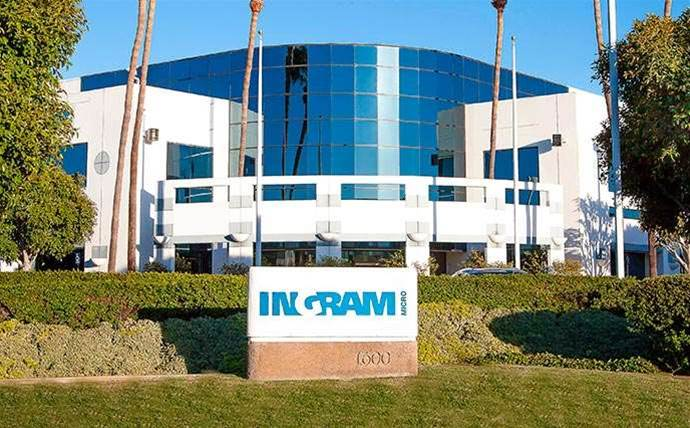 Ingram Micro's fourth-quarter sales plummet
