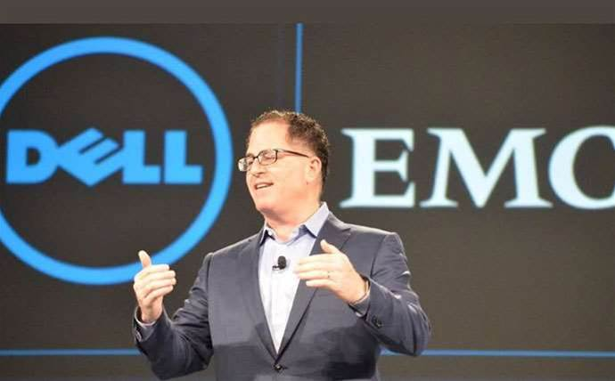 Michael Dell reveals new name for merged Dell-EMC