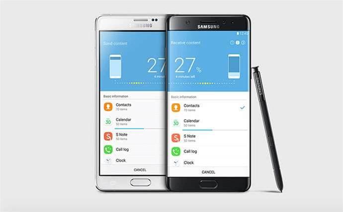 Samsung Australia restocks Note7 after fire recall