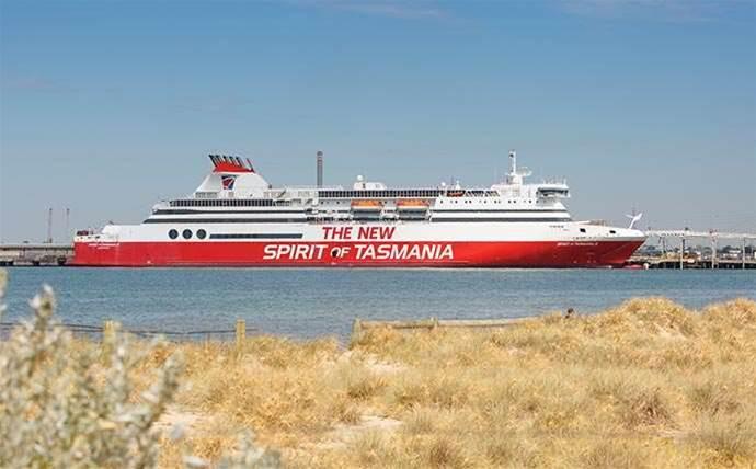 Optus partner brings data streaming to Tassie ferries