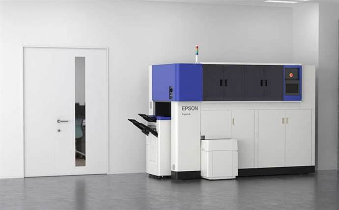 Epson prototype turns shredded waste into paper