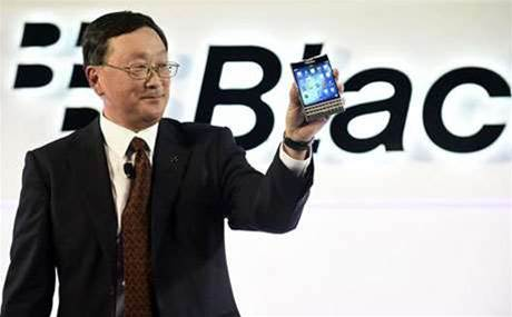 BlackBerry bets big on square-shaped smartphone