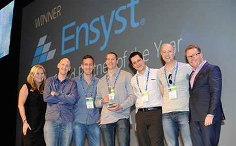 Winners of 2014 Microsoft Australia Partner Awards