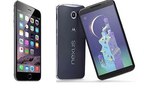 Head-to-head: Apple iPhone 6 Plus vs Google Nexus 6