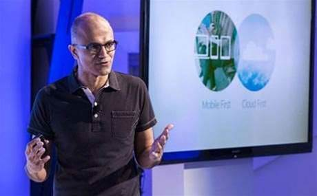 Microsoft CEO signals changes
