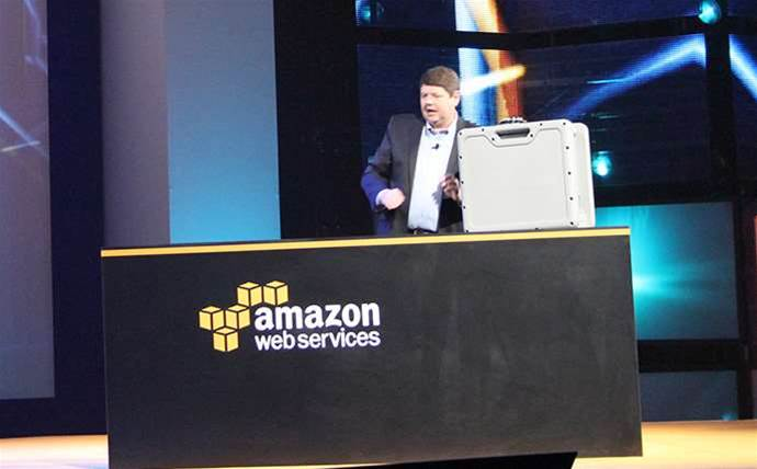 This Amazon suitcase will courier 50TB to the cloud
