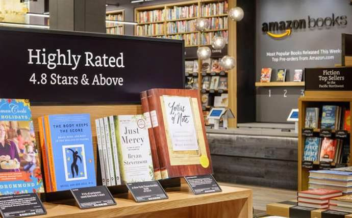Back to the future: Amazon opens physical book shop