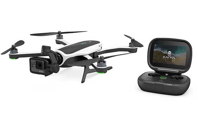 GoPro to recall 2500 Karma drones