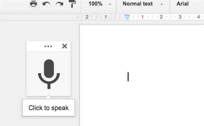 Google Docs introduces hands-free typing