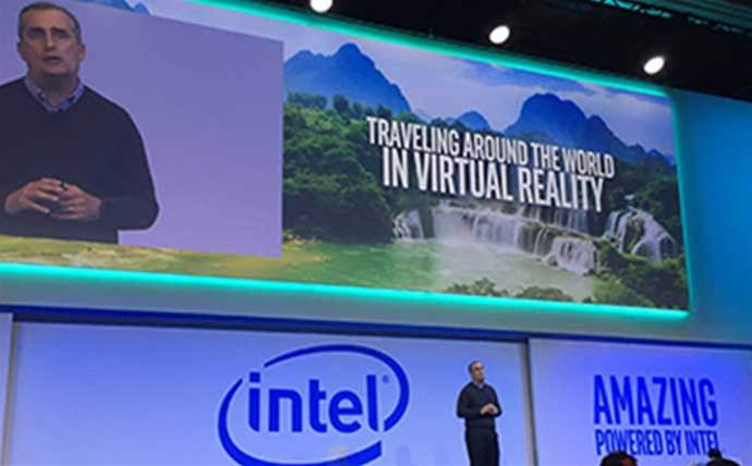 "Intel shows off ""game-changing"" VR system"