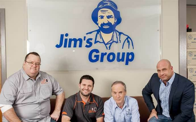 Jim's Mowing becomes a telco