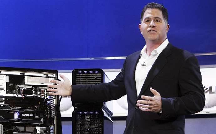 Michael Dell: our R&D spending will be twice HPE's