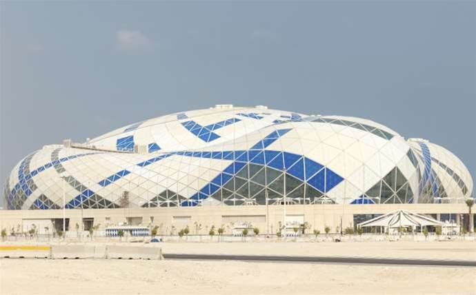 Qatar uses 3D printers to 'desert-proof' World Cup soccer stadiums