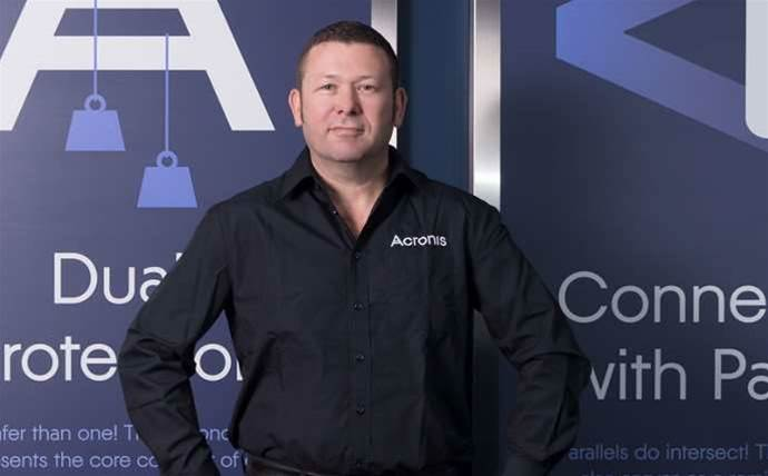 Acronis hires new Australian boss