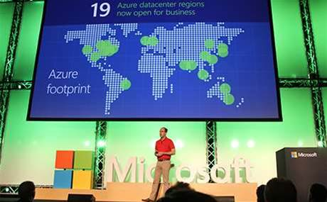 Microsoft ahead of Google in public cloud race
