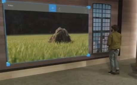 Microsoft demos Windows Holographic