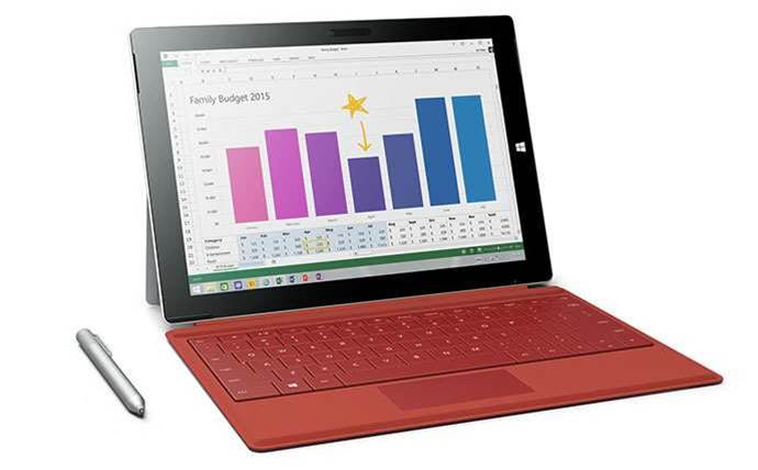 Microsoft releases cheaper Surface 3