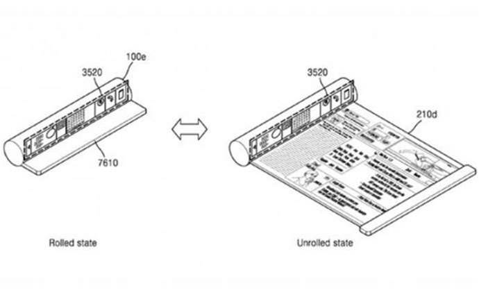 Samsung's ridiculous patent hints at a foldable smartphone