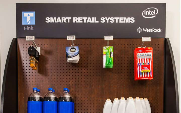 WestRock, T+ink to debut IoT retail fixtures