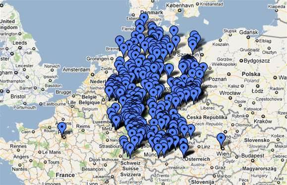 Hackers map locations of neo-Nazi party supporters