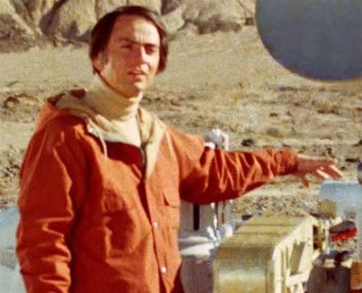 Vintage PopSci: Carl Sagan Advocates For Life On Mars
