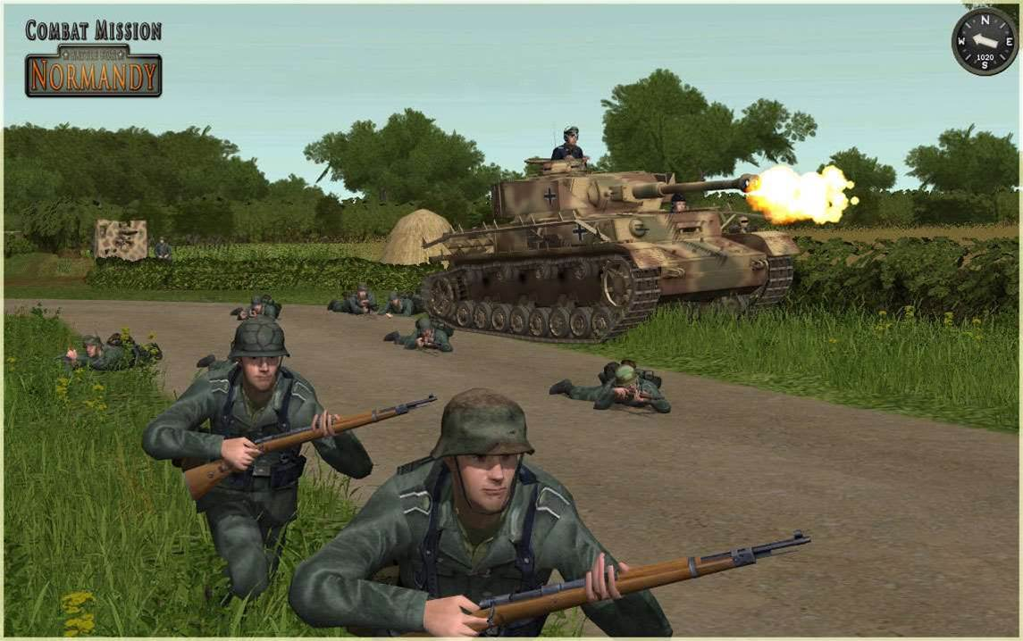 Combat Mission: Battle for Normandy - hyper-detailed wargaming fun