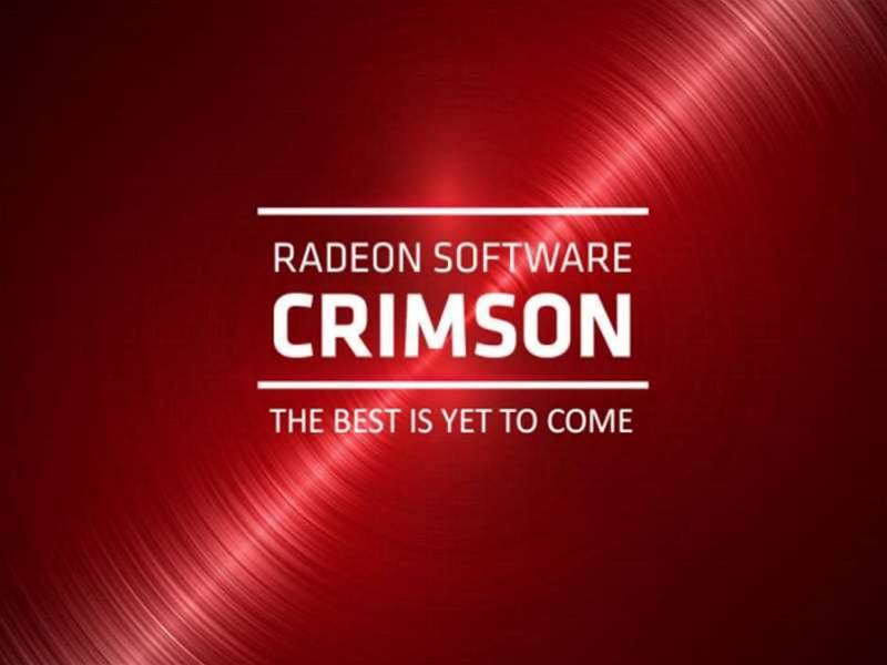 Catalyst is dead - long live Radeon Software: Crimson Edition