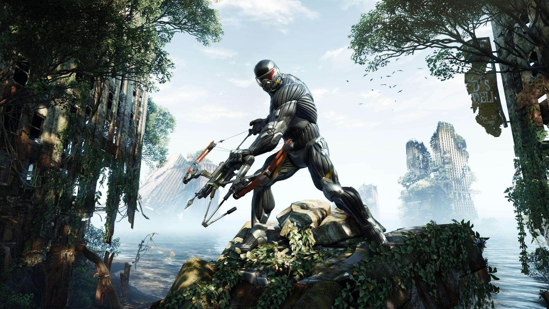 Nanosuit up! Gorgeous new Crysis 3 screenshots and concept art unleashed
