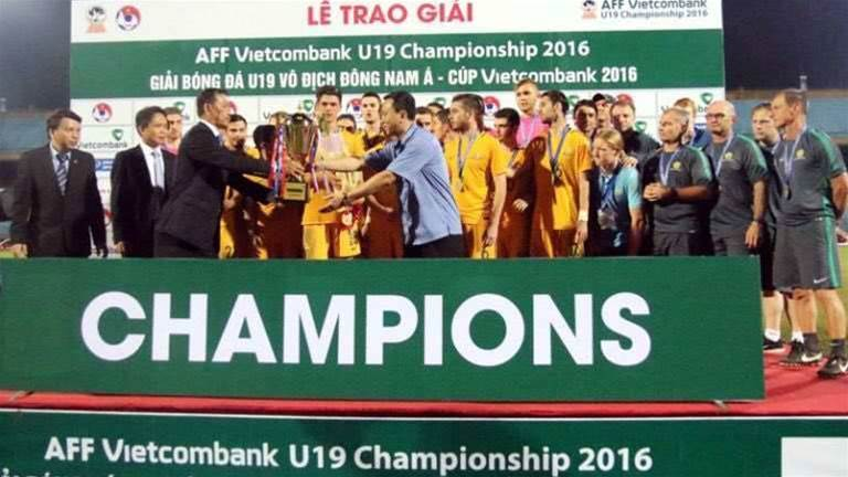 Young Socceroos claim AFF U19 title