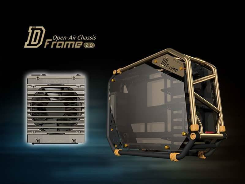 In Win reveals new D-Frame 2.0 'signature' PC chassis