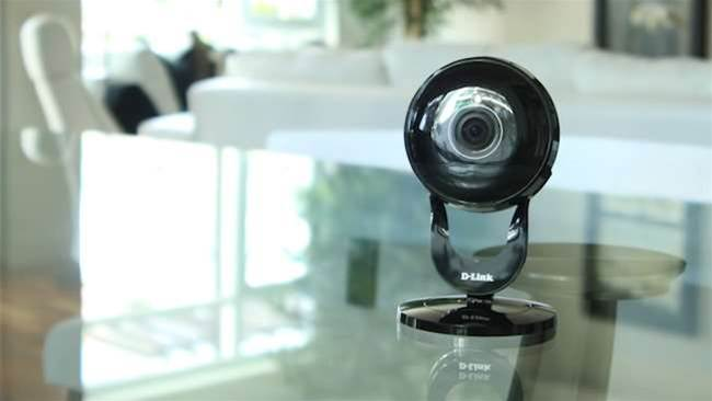 New budget security camera has a 180-degree lens