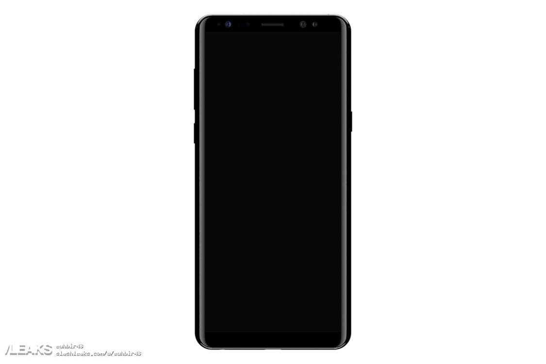 Galaxy Note 8 leaks reveals its huge size